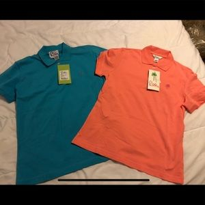 NWT Lilly Pulitzer short sleeve polos size M